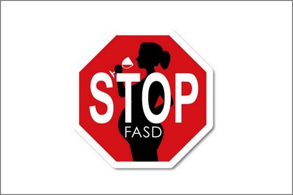 Stop-Zeichen FASD