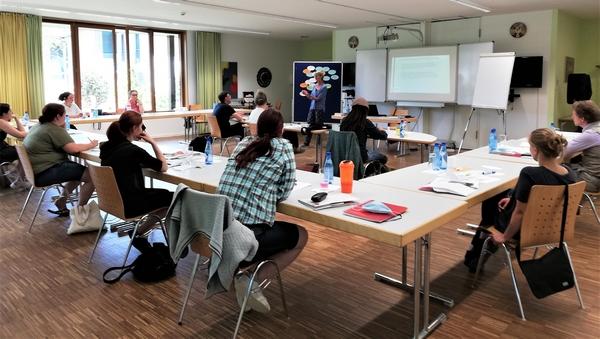 Neuer Seminarraum im Schullandheim Wartaweil
